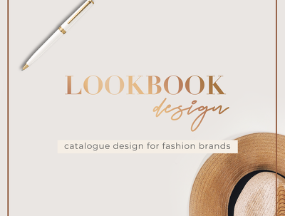 create your fashion lookbook layout