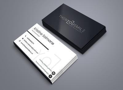 Design a professional business card
