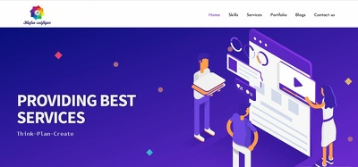 Build Landing page for WordPress site by any page builder plugin