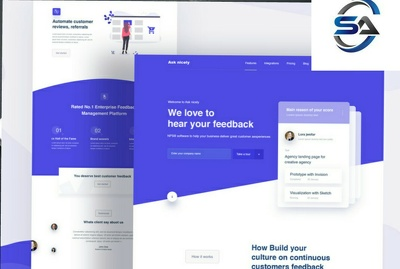Create 5 more pages website