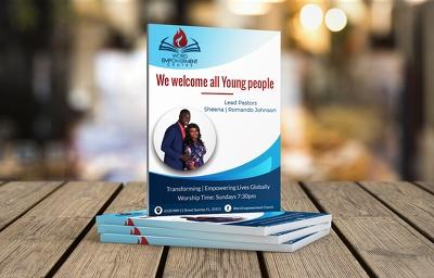 Design Flyer Leaflet Brochure Poster to Print