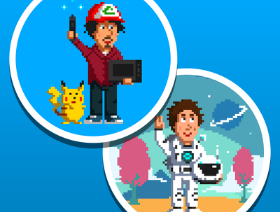 Create a personal pixel art Avatar for your social media