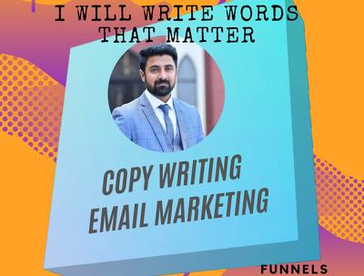 Do professional copywriting & email marketing for 15 $