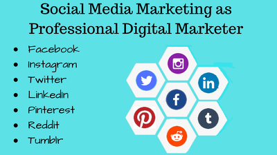 Do your social media marketing and management