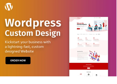 i will design  Landing page using Divi theme