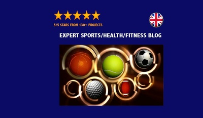 Create an engaging sports, health, fitness article of 600 words