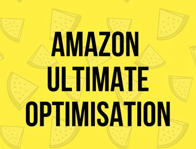 Create the ultimate Amazon Product Optimisation Listing