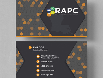 Create modern and minimal business card design