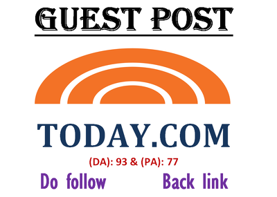Write & publish guestpost on community.today.com DA-93(Dofollow)