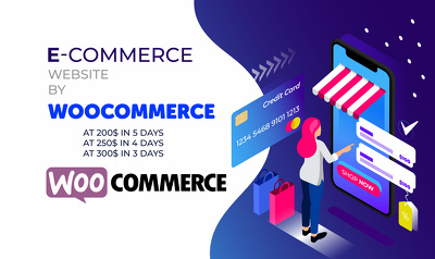 Make product, collection, cart & checkout with Woocommerce