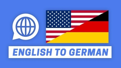 Translate any document from German to English and viceversa