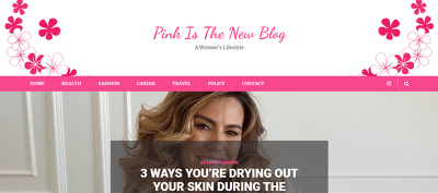 Guest Post on Women's Lifestyle Site - Pinkisthenewblog.com