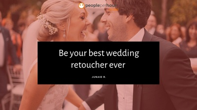 Be your best wedding retoucher ever