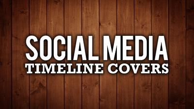 Design unique facebook cover or social media cover