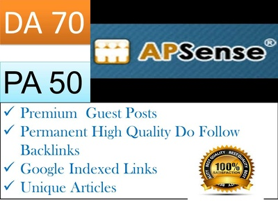 Write article and Publish Publish Guest Post On Apsense DA 91