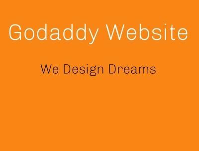 develop website on godaddy builder