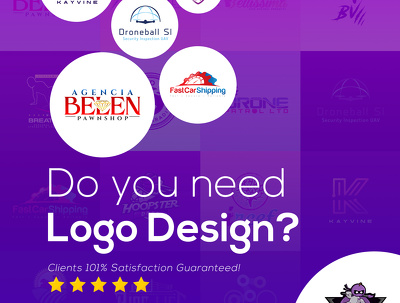 Design eye-catching logo in 24hrs (3 concepts+FREE animation)