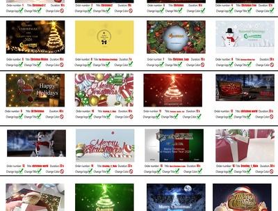 Create this Christmas video