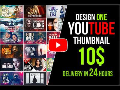 Design eye-catching YouTube thumbnail