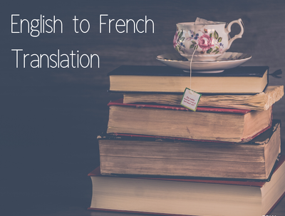 Translate your document from English to French