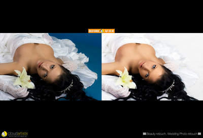 Professionally retouch your 3 images in $10