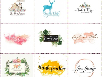 Design best quality water color logo