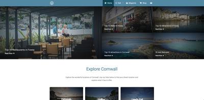 A basic 10 page WordPress website