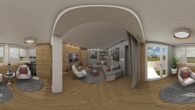 Create a 360° virtual tour of your home or real estate interior