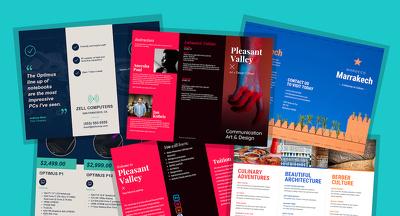 Do brochure design and professional company profile for you do