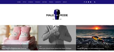 publish a Guest Post on male-mode.com - DA28