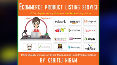 20 ecommerce product listing on any platform