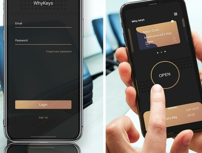 Develop Digital Key App (WhyKeys)