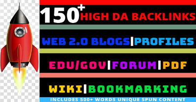 Build 150+ high DA backlinks All In One SEO pack