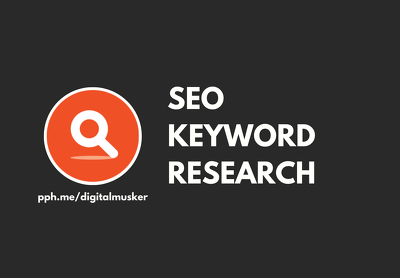 SEO Keyword Research For Google Ranking