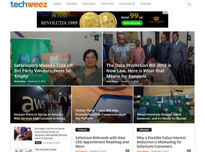 Guest post on Techweez.com tech buisness website - DA 60
