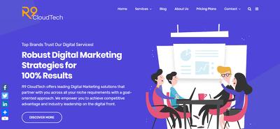 Design professional business wordpress website design