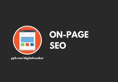 On Page SEO For Google Ranking