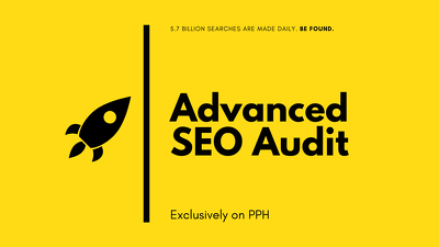 Perform an advanced SEO Audit on your website (10 pages)
