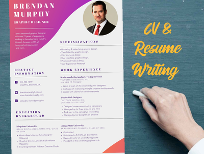 Provide professional CV writing and resume writing