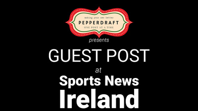 Write & publish an article on SportsNewsIreland.com