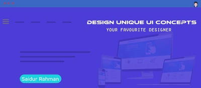 Do mobile or web ui (user interface) design