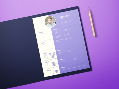 Create a professional resume design for you.