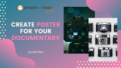 Design poster for your documentary