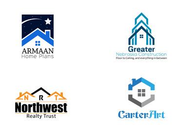 Logo design for real estate business