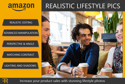 Create a realistic lifestyle photo for your Amazon product