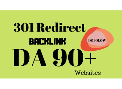 Create 301 redirect do follow backlinks from HQ sites (Basic)