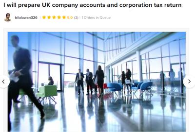 Prepare UK company accounts and corporation tax return