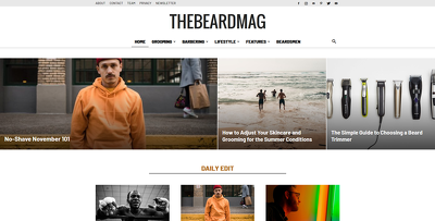 Write and publish a guest post on Thebeardmag.com
