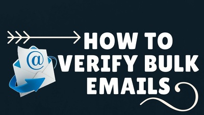 Do email verification and list cleaning up to 150k