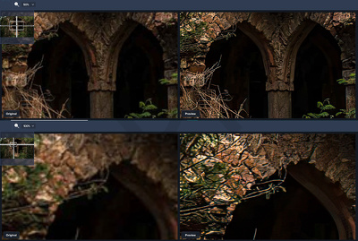 Enlarge/Upscale your images [10] up to 6X without blurring